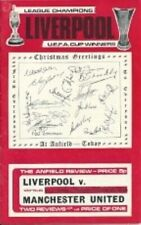 Liverpool Vs Man Utd 73/74 Season - Football Programme