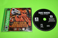 Duke Nukem Time to Kill PSX PS1 Playstation Complete TESTED WORKS