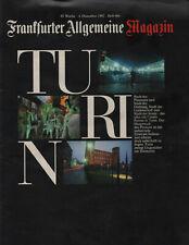 FAZ Magazin 4 12 1992 Turin.Heavy Metal,Guns n Roses.José Carreras.Subaru Legacy