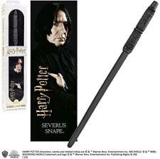 BACCHETTA MAGICA di SEVERUS PITON Snape con SEGNALIBRO NOBLE NN6323 HARRY Potter