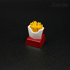 French Fries Keycaps Handmade Resin Custom Artisan