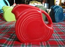 Fiesta SCARLET RED Mini Disc Pitcher ~