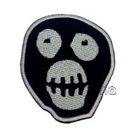 Mighty Boosh Mask Iron-on embroidered patch badge logo