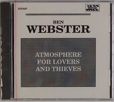 BEN WEBSTER: Atmosphere for Lovers Thieves SEALED Jazz Heritage Black Lion CD