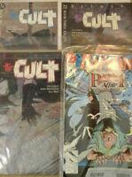 Batman_comic_LOT  4_issues   DC_Comics   The_Cult_set  plus...