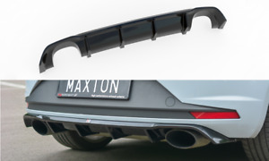 Seat Leon 5F Cupra R MK3 Heckdiffusor Heckansatz Diffusor Stoßstange