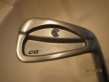 **LIGHTLY USED CLEVELAND CG2 CMM STEEL STIFF RH 6 IRON (STIFF STD +2* ON HEAD)