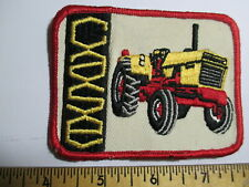 CASE Tractor Agriculture Farming Patch NOS  Embroidered Vintage Seed & Feed