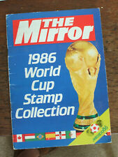 The Daily Mirror - 1986 World Cup Stamp Collection - complete