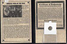 PREMIUM GRADE SILVER 'BIBLICAL COINS OF THE MAGI'The 3 Wisemen large Album &COA