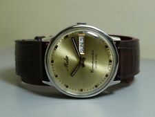 Vintage Mido COMMANDER OCEAN STAR AUTOMATIC DATE SWISS MENS WRIST Watch E113 Old