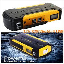 82800mAh4USB Car Jump Starter Emergency safety hammer Charger Battery Power Bank