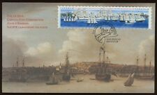 FDC 46 CENT COVER CITY OF HALIFAX TALL SHIPS FESTIVAL STAMPS SAILING VESSELS