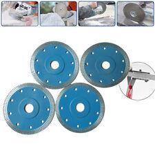 4PCS 115MM Diamond Saw Blade Thread Cutting Engraving Disc Granite Marble Stone