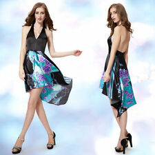 Ever-Pretty Asymmetrical Hem Hand-wash Only Dresses for Women