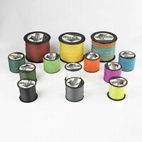 Hercules Braided 300M 328Yds 10lb-300lb PE Fishing Line Strong Tackle 8 Strands