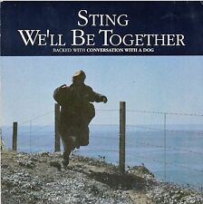 """45 T SP STING """"WE'LL BE TOGETHER"""""""