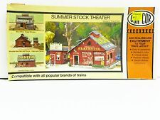 "CON-COR HO U/A ""SUMMER STOCK THEATER"" PLASTIC MODEL KIT #9035 NEW OLD STOCK"