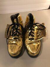 Jeremy Scott Adidas Gold Wings sz 9 1/2
