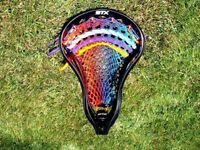 Lacrosse Money Mesh Blue to Red Fusion.  Very cool.  Show your swag!