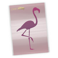 Flamingo Stencil - 15 x 25 cm -  Reusable Mylar Tropical Bird Template