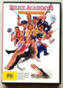 Police Academy 5: Assignment Miami Beach (DVD) **BRAND NEW** (Aust Region 4 PAL)