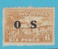 NEW GUINEA O6 OFFICIAL MINT HINGED OG * NO FAULTS EXTRA FINE !