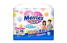 Merries Air Through XXL Bigger 26 Pieces Japanese Disposable Diaper Pants