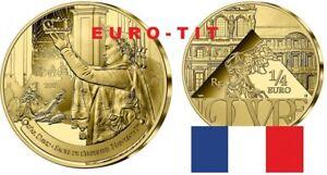 FRANCE  1/4     EURO   SACRE DE  NAPOLEON      2021  NEUVE    2021    disponbile