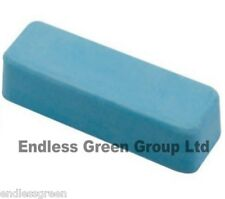 Fine Honing paste - for leather strop sharpening - Smurf Poo - BLUE BAR  110g