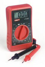 UNI-T UT20B Pocket Size Digital Multimeter Electrical Meter 19 Ranges Test Leads