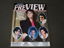 1978 JUNE PREVIEW MAGAZINE - ELVIS PRESLEY COVER - CW 941
