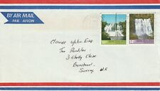 1976 New Zealand cover sent from Maunganui to Banstead Surrey UK