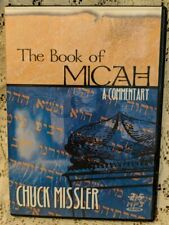 Book of MICAH Christian Bible A Commentary MP3 CD-ROM Missler Verse By Verse 2.5