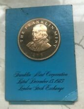 1973 Franklin Mint Proof Medal - London Stock Exchange