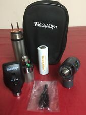 Welch Allyn Macroview Otoscope 23810 Ophthalmoscope 11720 Handle Diagnostic Set