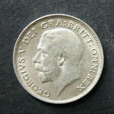 More details for 1911 george v silver sixpence  ( .925 silver )  british 6d coin.   132