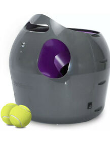 PetSafe Automatic Ball Launcher Interactive Dog Toy 2 Tennis Balls New Open Box