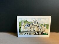 Carte postale Château d'Usse. Claude POPPÉ