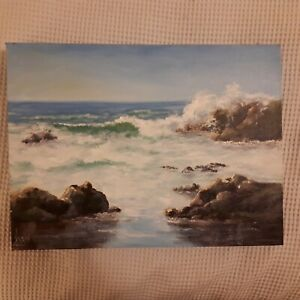 Original painting seascape oil