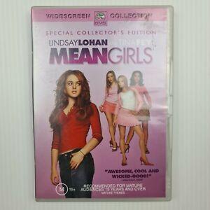 Mean Girls DVD - Lindsay Lohan - Rachel McAdams - Region 4 PAL - TRACKED POST