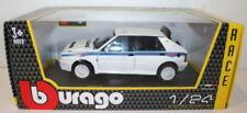 Véhicules miniatures bleus Burago Lancia