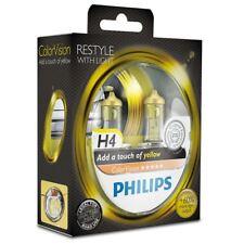AMPOULE H4 Jaune 12V 60/55W Philips ColorVision Yellow 12342CVPYS2 Set