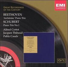Beethoven: Piano Trio No. 7 - Archduke / Schubert: Piano Trio No. 1 in B flat ..