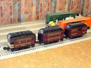 Lot of 3 PEEP Mini Passenger cars Pennsylvania RR Heavyweight PRR RMT-93015
