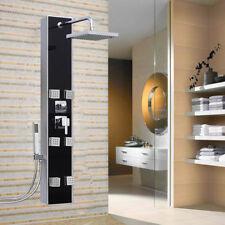 Regendusche Duschpaneel Badarmatur Duscharmatur Duschsäule Duschset Aluminium