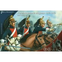 French Napoleonic Line Dragoons - 28mm figures x21 Perry FN130 - free post