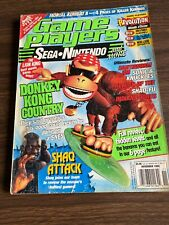Game Players Magazine Nintendo Sega November 1994 Donkey Kong Country