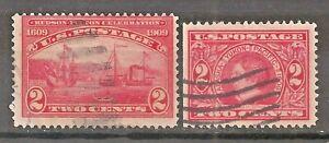 US   Sc# 370 & 372   Used   CV $7     gtc26