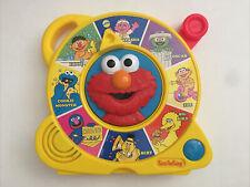 VTG Mattel 1997 Sesame Street See 'N Say Talking Friends Elmo *TESTED*